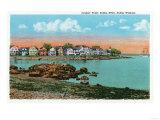 Salem, Massachusetts - Salem Willows View of Juniper Point and Salem Neck Print