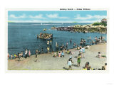 Salem, Massachusetts - View of the Salem Willows Beach Posters by  Lantern Press