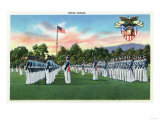 West Point, New York - Military Academy Dress Parade No. 2 Print by  Lantern Press