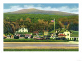 White Mountains, New Hampshire - Exterior View of the Glen House Poster