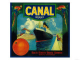 Canal Orange Label - Rialto, CA Posters
