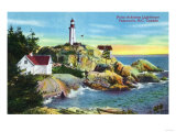 View of Point Atkinson Lighthouse, Vancouver, British Columbia, Poster