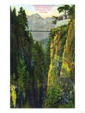 Vancouver, Canada - Capilano Canyon View of Crown Mountain Posters by  Lantern Press