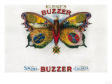 Buzzer Cigar Box Label Print