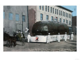 Spokane, Washington - Giant Baked Potatoe Float Scene Print