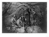 Chance Mine Lead Mining in Coeur d'Alene, ID Photograph - Coeur d'Alene, ID Print by  Lantern Press