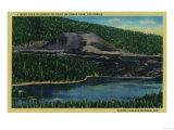 Cinder Cone in Lassen Volcanic National Park - Mt. Lassen Posters