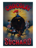 Chocolat Suchard Vintage Poster - Europe Posters