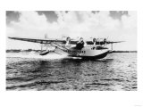 China Clipper flying out of Miami, Fl Photograph - Miami, FL Posters by  Lantern Press