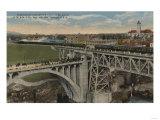 Spokane, WA - Union Pacific Railway Completion Posters by  Lantern Press