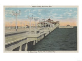 St. Petersburg, Florida - View of Million Dollar Pier Posters