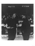 Christy Mattewson & John McGraw, NY Giants, Baseball Photo - New York, NY Posters by  Lantern Press