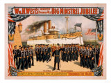 Big Minstrel Jubilee Remember the Maine Poster Poster by  Lantern Press