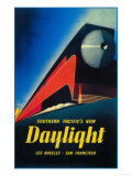 San Francisco, California - The Daylight Train Promotional Poster Posters by  Lantern Press