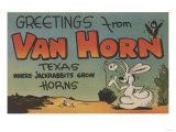 Van Horn, Texas - Greetings From Posters