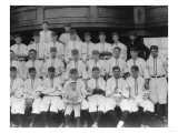 Cincinnati Reds Team, Baseball Photo - Cincinnati, OH Print by  Lantern Press