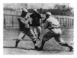 Bill Carrigan & Buck O'Brien Boxing, Boston Red Sox, Baseball Photo - Boston, MA Posters
