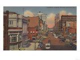 Spokane, WA - View of Riverside Ave. Posters by  Lantern Press