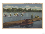 St. Paul, MN - Water Bike Race in Como Park Posters