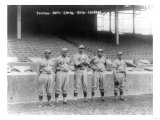 Boston Red Sox Pitchers, Baseball Photo - Boston, MA Posters