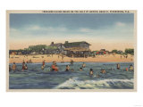 St. Petersburg, FL - View of Treasure Island Beach Posters