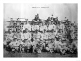 Cleveland Indians Team, Baseball Photo - Cleveland, OH Poster by  Lantern Press