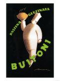 Tuscany, Italy - Buitoni Pasta Promotional Poster Kunstdruck von  Lantern Press