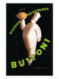 Tuscany, Italy - Buitoni Pasta Promotional Poster Print