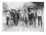 Boy's Baseball Team in Indiana Photograph - Indiana Print
