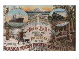 Seattle, WA - AD for Alaska Yukon Pacific Expo. Posters