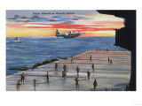 US Navy View - Action Aboard Aircraft Carrier Posters by  Lantern Press