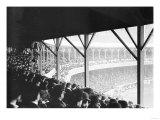 Boston Braves vs. NY Giants, Baseball Photo - New York, NY Posters