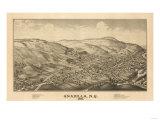 Unadilla, New York - Panoramic Map Poster by  Lantern Press