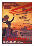 Champagne, France - Great Week of Aviation Posters