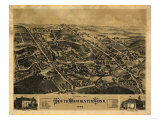 Southington, Connecticut - Panoramic Map Posters