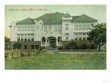 Exterior View of Lytton Avenue School - Palo Alto, CA Prints