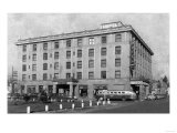 Exterior View of the Hotel Washington - Weiser, ID Prints