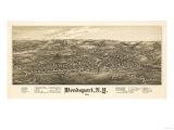 Weedsport, New York - Panoramic Map Print by  Lantern Press