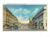 Eastern View from Center Street - Pocatello, ID Prints