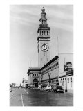 Exterior View of Ferry Building, Clock Tower - San Francisco, CA Prints by  Lantern Press