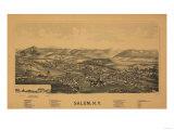 Salem, New York - Panoramic Map Posters by  Lantern Press