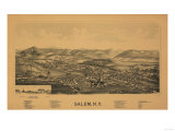 Salem, New York - Panoramic Map Posters