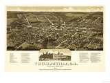 Thomasville, Georgia - Panoramic Map Posters