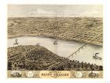 Saint Charles, Missouri - Panoramic Map Posters