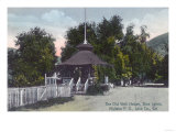 Exterior View of the Old Well House at Blue Lakes - Midlake, CA Prints by  Lantern Press