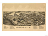 Wappingers, New York - Panoramic Map Posters by  Lantern Press
