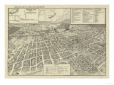Winchester, Virginia - Panoramic Map Posters