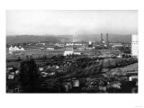 Longview, WA View of Long-Bell Lumber Co. Photograph - Longview, WA Prints by  Lantern Press