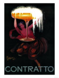 Contratto Vintage Poster - Europe Prints by  Lantern Press
