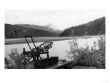 Fish Wheel in Use in Alaska Photograph - Alaska Art